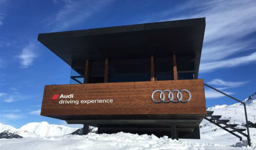 Edificio corporativo  AUDI DIRVING